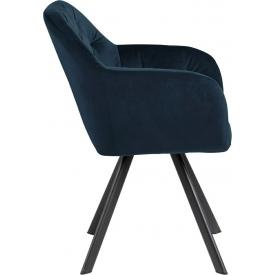 Designerski Fotel wypoczynkowy Marshal Halmar do salonu. Kolor ciemno zielony, popiel, Styl minimalistyczny.