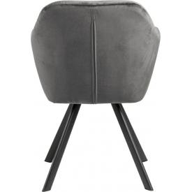 Designerski Fotel wypoczynkowy Castel II Halmar do salonu. Kolor ciemno zielony, Styl nowoczesny.