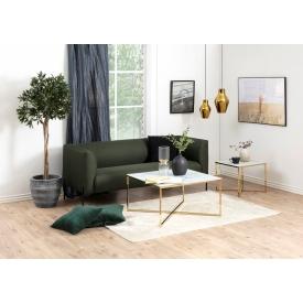Designerski Fotel wypoczynkowy z podnóżkiem VIP D2.Design do salonu. Kolor czarny, Styl nowoczesny.