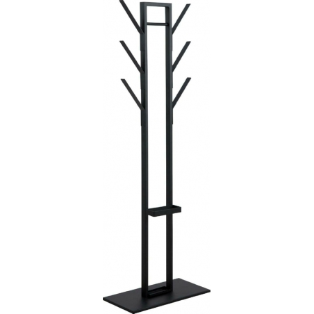 Vinson II black wide coat stand Actona