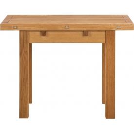 Stylowy Stół rozkładany drewniany Kenley 100x90 dąb Actona do kuchni, jadalni i salonu.