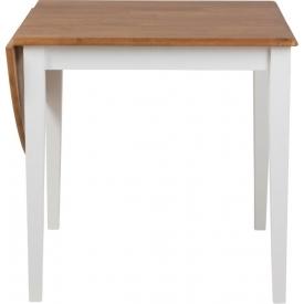 Stylowy Stół rozkładany drewniany Brisbane 120x75 Actona do kuchni, jadalni i salonu.