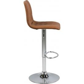 Stylowe Tapicerowane krzesło Trivio Halmar do jadalni. Kolor: popiel, podstawa drewniana. Styl skandynawski, 259,00 PLN.