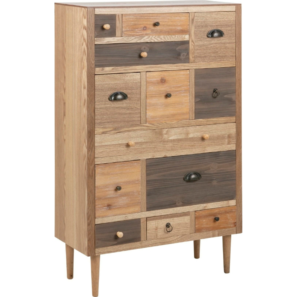 Thais Ii 70 Rustic Cabinet With Drawers Actona