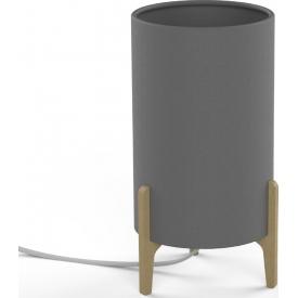 Stylowa Lampa stołowa Kazan Led Trio na biurko. Kolor czarny, Styl nowoczesny.