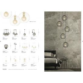 Stylowa Lampa biurkowa Stay LED DFTP do salonu. Kolor szary, czarny, Styl skandynawski.