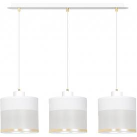 Stylowa Lampa sufitowa industrialna Hutch 76 do salonu. Kolor czarny, Styl industrialny.