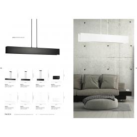 Stylowy Reflektor sufitowy Torino V Markslojd do salonu. Kolor biały, czarny. Styl skandynawski.