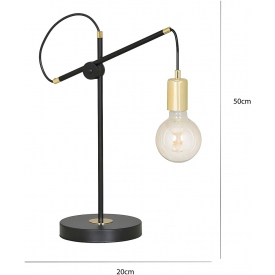 Lampa biurkowa Pop Rough Nordlux