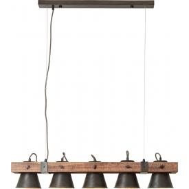 Betonowa Lampa wisząca Cone S w kształcie stożka