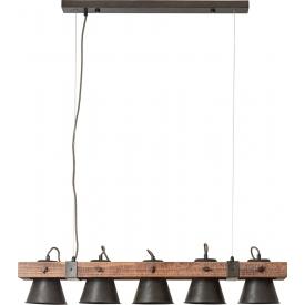 Industrialna Betonowa lampa wisząca Cone 19 do salonu. Kolor: betonowy w cenie 245,00 PLN.