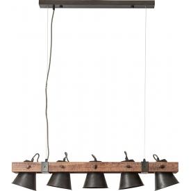 Betonowa Lampa wisząca Solid M w stylu industrialnym
