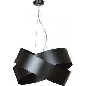 Stylowa Lampa wisząca druciana Meia Light&Living do salonu. Kolor czarny, Styl industrialny.