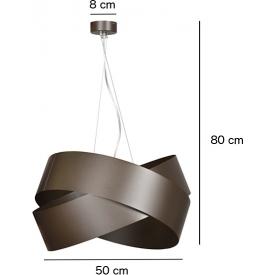 Industrialna Lampa wisząca druciana Melia Light&Living do salonu. Kolor: czarny w cenie 325,00 PLN.