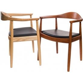 Designerskie Krzesło drewniane Brisbane Actona do kuchni. Kolor biały, czarny, stelaż/podstawa drewniana. Styl nowoczesny.