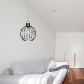 Designerski Fotel z podnóżkiem Barcelon D2.Design do salonu. Kolor brązowy, czarny, Styl inspirowane.