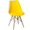 Norden DSW yellow scandinavian cushion chair Intesi