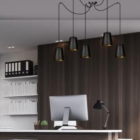 Stylowy Plafon industrialny Rixt II Lucide do salonu. Kolor czarny w cenie 239,00 PLN.