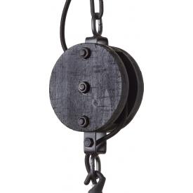 Plafon szklany Madee IV Lucide do salonu. Kolor: czarny, Styl industrialny w cenie 335,38 PLN.