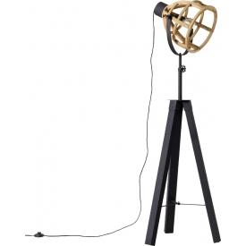 Stylowy Reflektor sufitowy Dorian Led Lucide do salonu. Kolor czarny. Styl minimalistyczny.