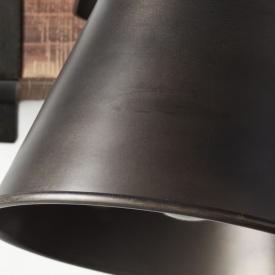 Designerska Lampa stołowa Pippa Lucide do sypialni. Kolor czarny, biały, Styl nowoczesny.