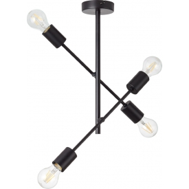 Lampa wisząca druciana czarna Tina 39 Tk Lighting