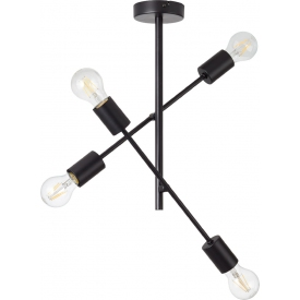 Lampa sufitowa druciana Tina V Tk Lighting metal