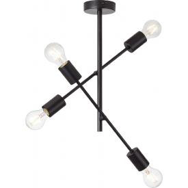 Stylowa Lampa sufitowa drewniana Aga LED Tk Lighting do salonu. Kolor dąb, orzech, Styl skandynawski.