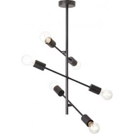 Stylowa Lampa biurkowa drewniana Vaio Tk Lighting na biurko. Kolor biały, szary, Styl skandynawski.