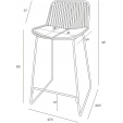Transparentne Krzesło Nood Ghost