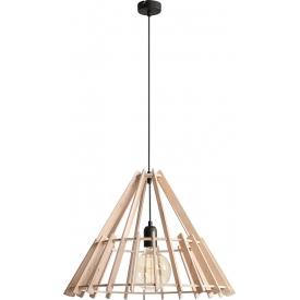 Skandynawska Lampa ze sklejki wisząca geometryczna Ferb 53 Aldex do kuchni, salonu i sypialni.