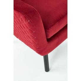 Designerskie Krzesło z podłokietnikami Carmen Armchair Black Siesta do jadalni. Styl nowoczesny.