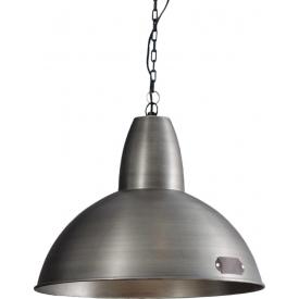 Lampa wisząca industrialna Salina 46 nikiel LoftLight do salonu, kuchni i sypialni.