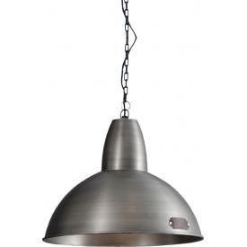 Lampa wisząca industrialna Salina 35 nikiel LoftLight do salonu, kuchni i sypialni.