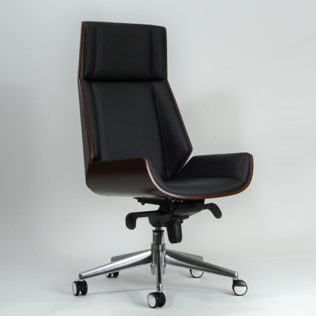 Maryland black&nut cabintet office chair Signal