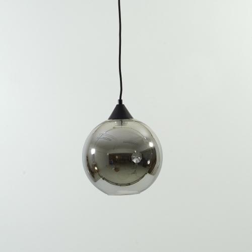 Lampa wisząca szklana kula Love Bomb 25 Szara Step Into Design