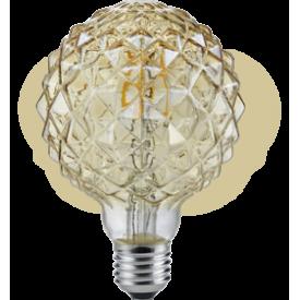 Żarówka ozdobna Globe E27 LED 4W Brilliant. Styl nowoczesny.