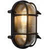 Dudley II black outdoor wall lamp Lucide