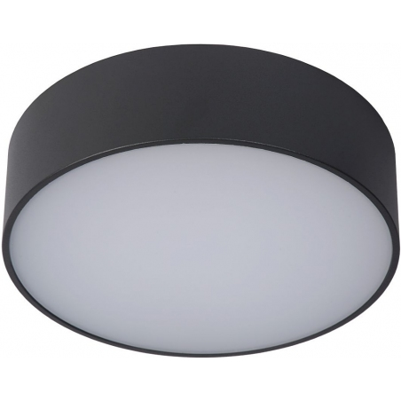 Roxane 25 LED anthracite round outdoor ceiling light Lucide