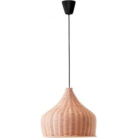 Stylowa Lampa wisząca rattanowa boho Anta 38 do kuchni, jadalni i salonu.