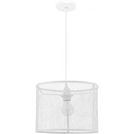 Dekoracyjna Lampa wisząca ażurowa loft Tikka 30 biała do kawiarni i restauracji