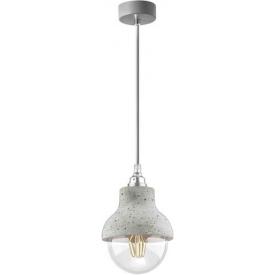 Stylowa Lampa betonowa wisząca Slip 15 szara do kuchni i jadalni