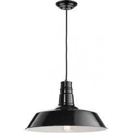 Stylowa Lampa wisząca industrialna Manga 46 czarna do kuchni i jadalni