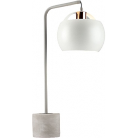 Lampa stołowa betonowa...