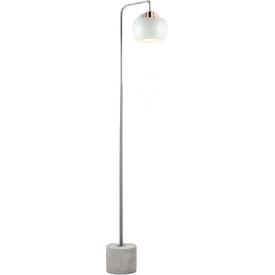Lampa podłogowa betonowa...