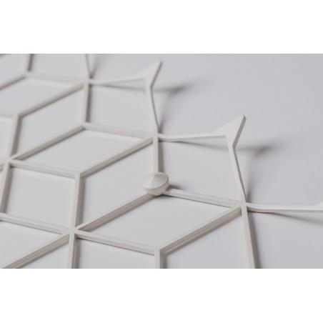 Stiga XL white metal wall hook Polyhedra