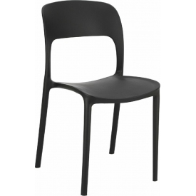 plastic chair Flexi black...