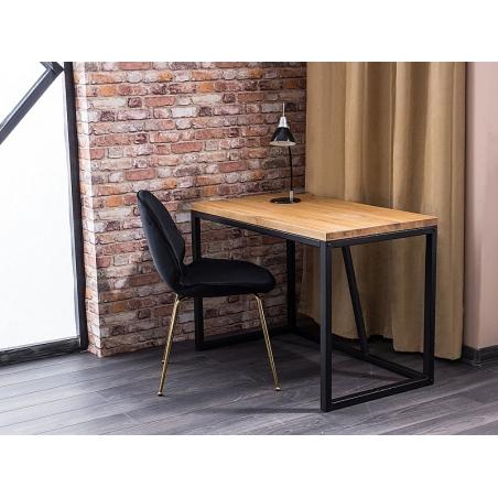 Silvio 110 oak&black industrial desk Signal