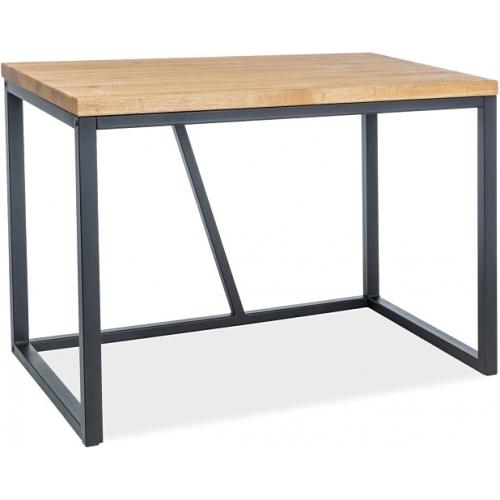 Silvio 110 oak&black wooden industrial desk Signal