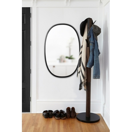 Flapper black&walnut wooden coat stand Umbra